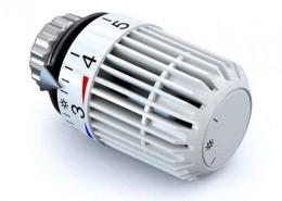 Foto eines Heizkörper-Thermostats - Kurt Burmeister Heizung & Sanitär Kiel Kronshagen