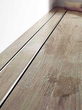 Die Abbildung zeigt das Kermi LINE XXL-Zuschnitt-Board Länge 1000 x Breite 1800 mm