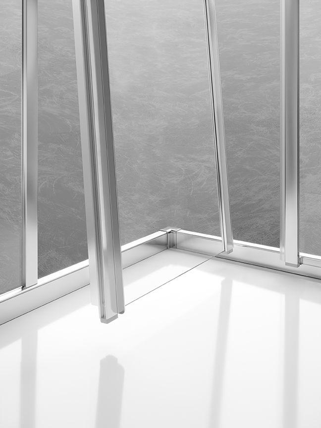 Hoch, dicht und sauber: die neue LIGA Gleittür